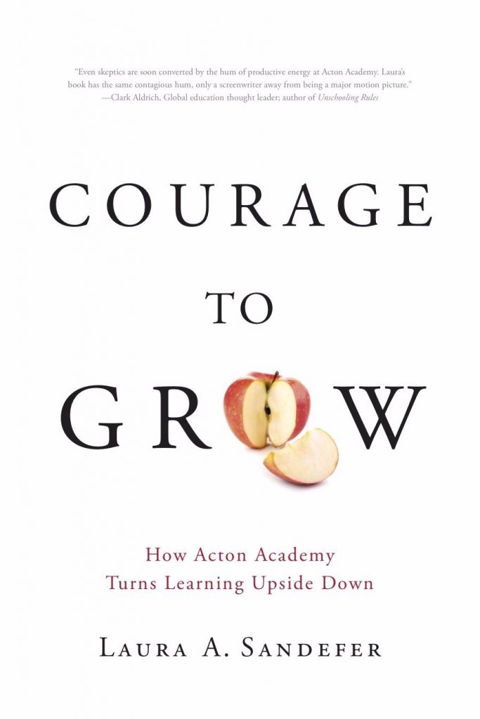 Book cover for Courage to Grow, by Laura A. Sandefer